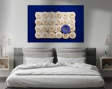 Blauwe knoop von marleen brauers