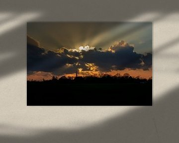 Skyline Niehove in Sunrays