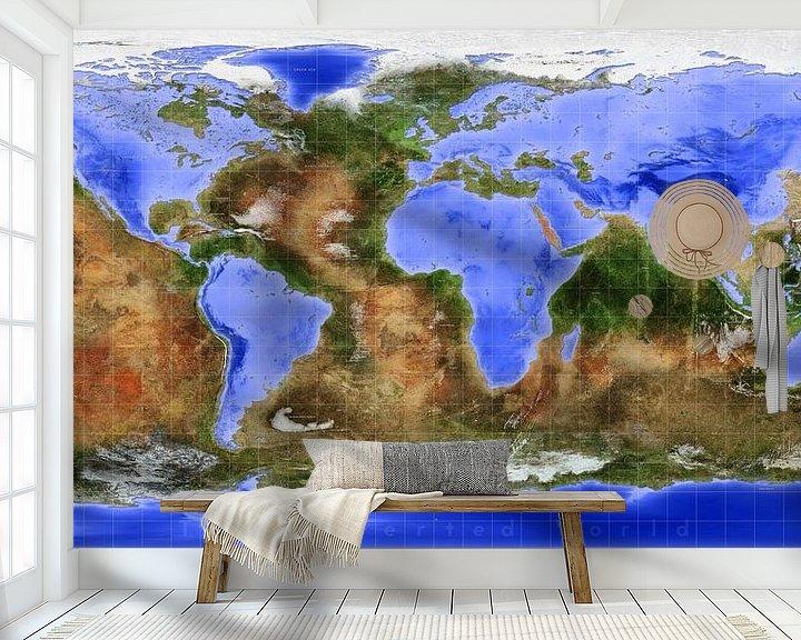 Sfeerimpressie behang: De Omgekeerde Wereld van Frans Blok