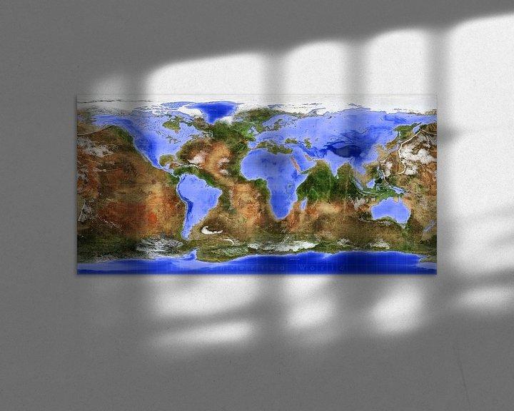 Sfeerimpressie: De Omgekeerde Wereld van Frans Blok