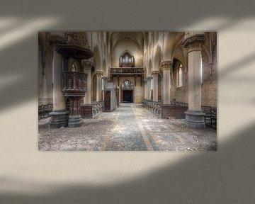 Oude Verlaten Kerk. van Roman Robroek