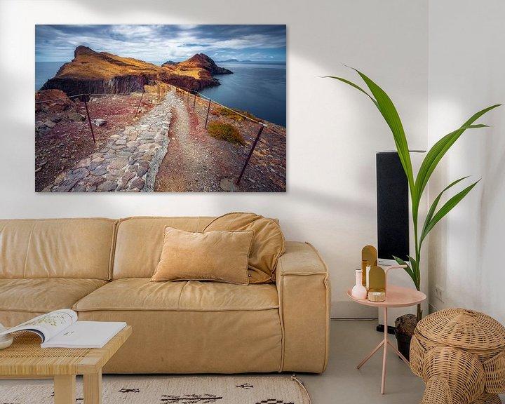 Sfeerimpressie: Fine line (Ponta de São Lourenço / Madeira / Portugal) van Dirk Wiemer