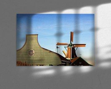 Windmolen en huis van Jan Brons