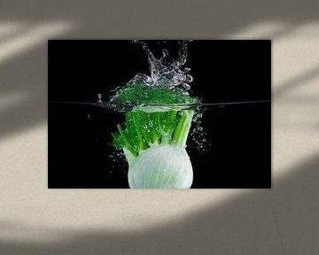 Mega mooie splash van venkel van Henny Brouwers