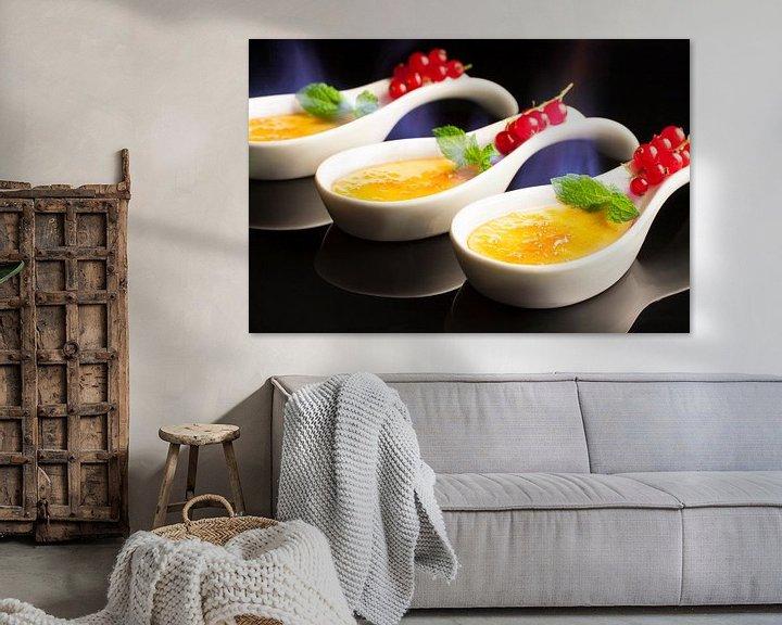 Sfeerimpressie: Trio van crème brûlée van Henny Brouwers