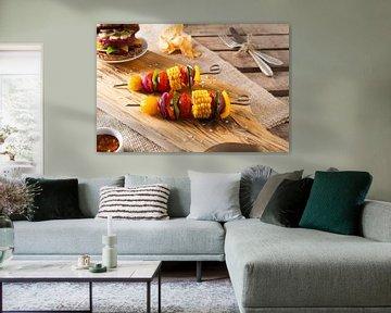 Sfeervolle foto vegetarisch gerecht van Henny Brouwers