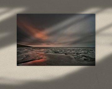 De zon waait door de wolken van Remco de Vries