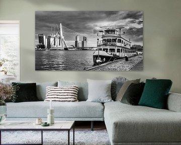 Erasmus-Brücke, Rotterdam von Lorena Cirstea