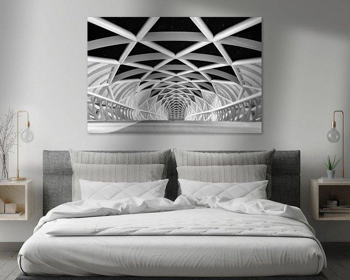Sfeerimpressie: Fietsersbrug Barendrecht van Erik Noordhoek