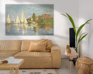 Claude Monet. Regatta in Argenteuil