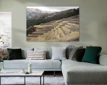 Peru, Inka, Terassen van Patsy Van den Broeck