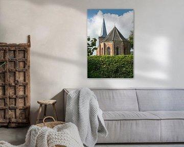 Kerkje van Hoorn op het eiland Terschelling van Tonko Oosterink