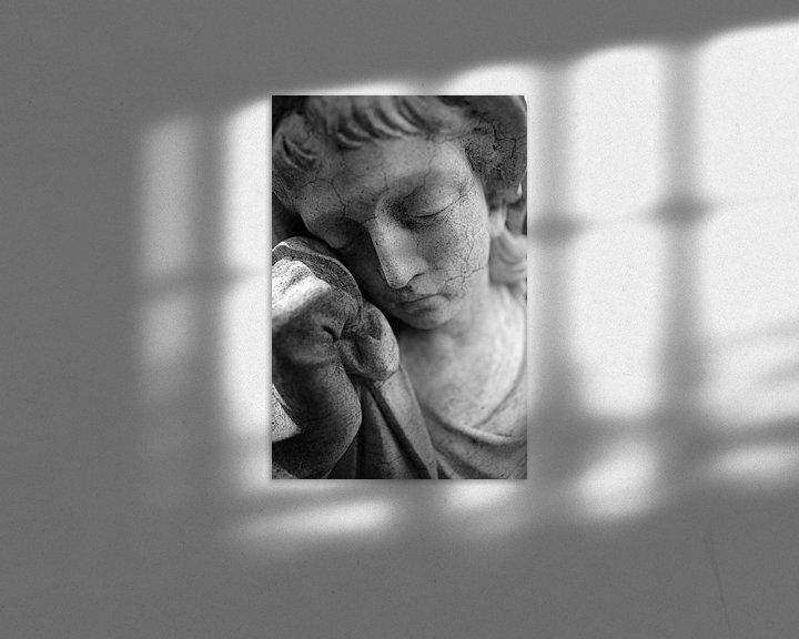 Sfeerimpressie: Verdriet en rouw van Jan Brons