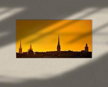 Stockholm Old City Sunset - Sweden von Lars Scheve