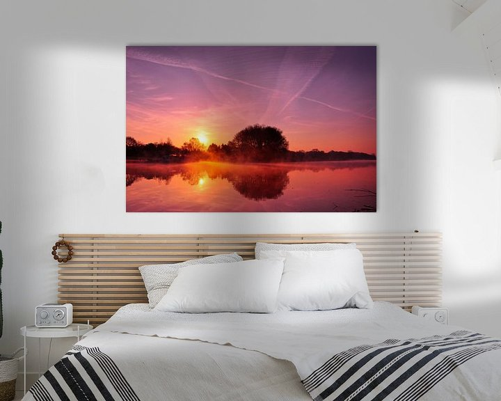Sfeerimpressie: Achterhoekse zonsopkomst van Arno Wolsink