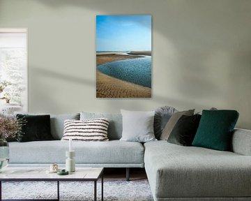 Zand en water 1 van Anouschka Hendriks
