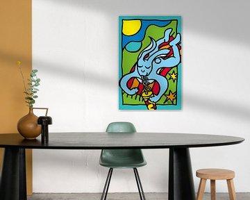 trinken Hasen von ART Eva Maria