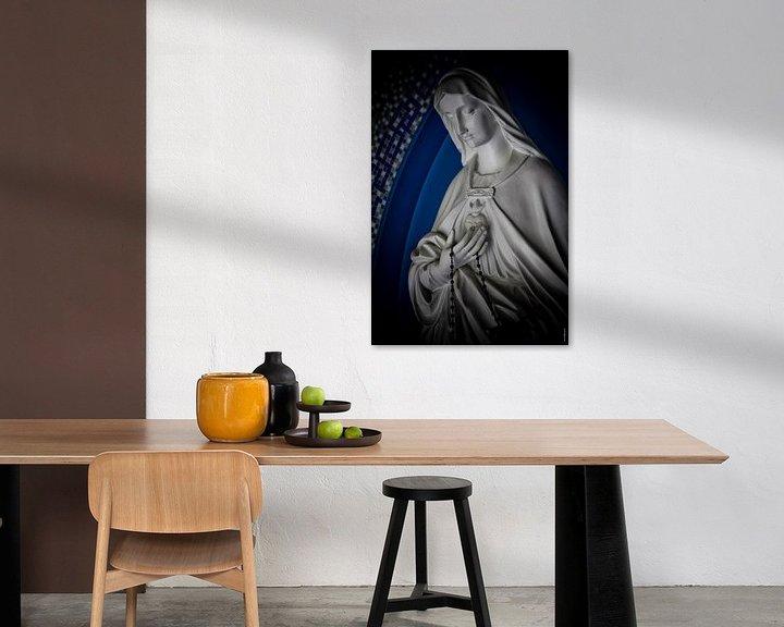 Sfeerimpressie: Mariabeeld van PJG Design