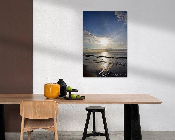 Sfeerimpressie: Zon op strand van PJG Design