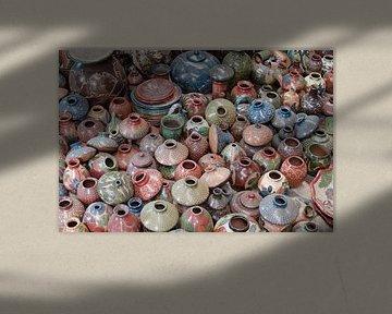 Verzameling keramiek voorwerpen von Maurits Kuiper
