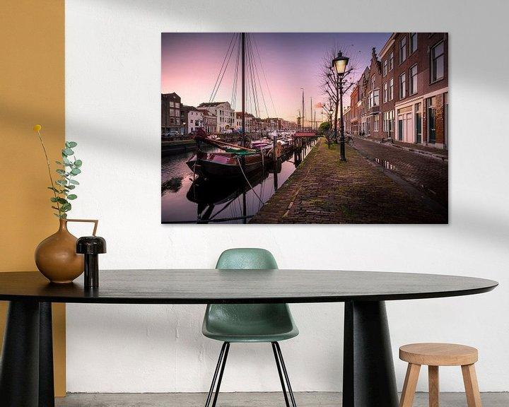 Sfeerimpressie: Delfshaven bij zonsopkomst van Prachtig Rotterdam