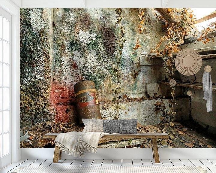 Beispiel fototapete: Glatte Wand in der Malerei-Workshop von Jan Sportel Photography
