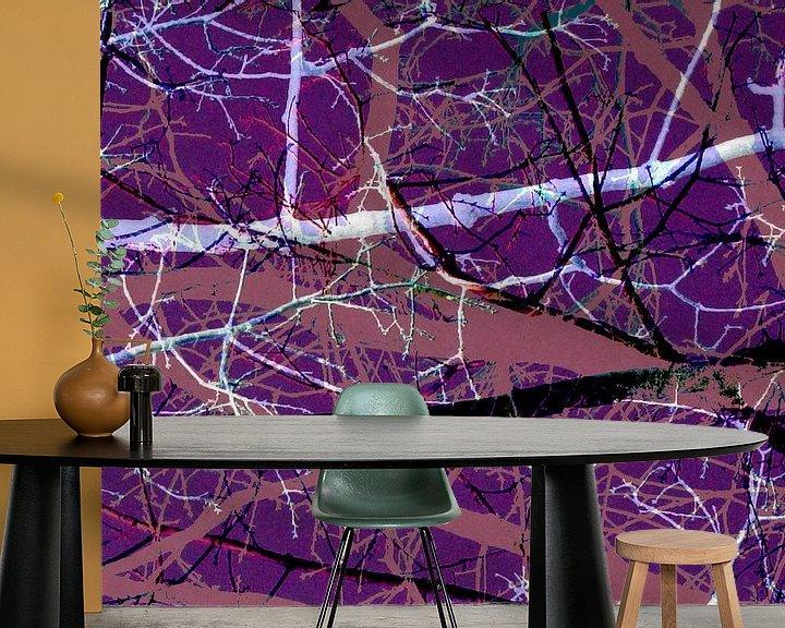 Beispiel fototapete: Handlungen der Geschichte eines Baumes 3 von ART Eva Maria