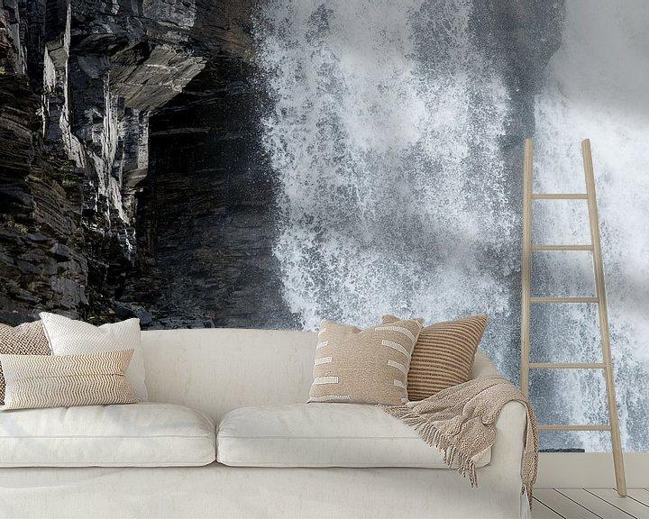 Sfeerimpressie behang: Waterval van Sander Strijdhorst