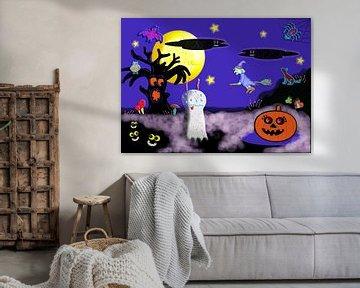 Les monstres d'Halloween sur Kees-Jan Pieper