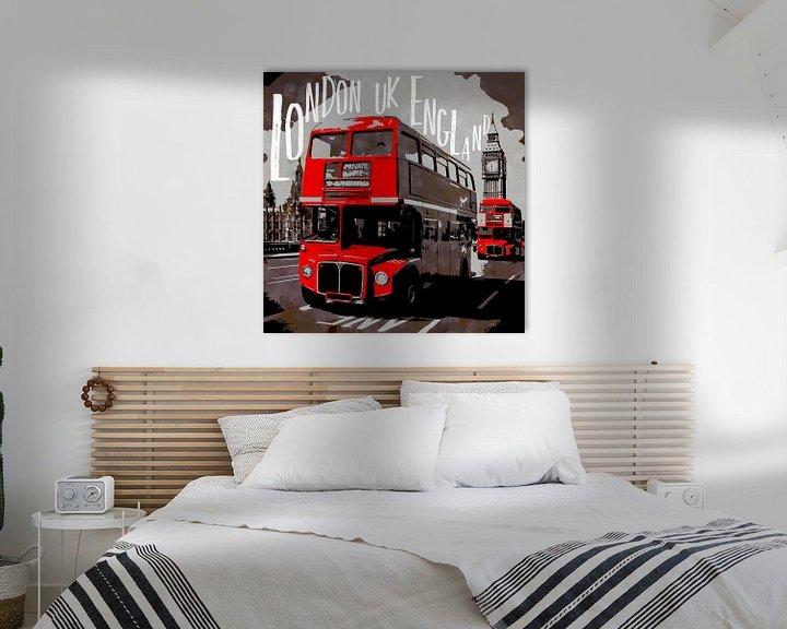 Sfeerimpressie: City-Art LONDON Westminster van Melanie Viola