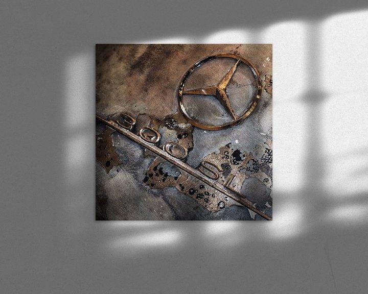 Sfeerimpressie: 300SL in verval van Michiel Mulder