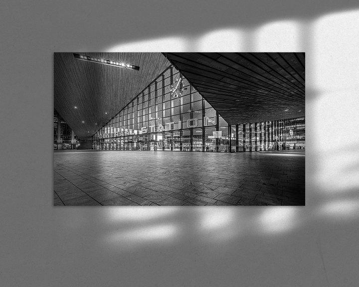 Sfeerimpressie: Het Centraal Station in Rotterdam van MS Fotografie | Marc van der Stelt