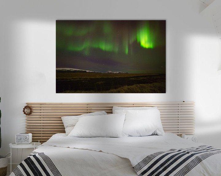 Impression: Aurore boréale (Northern Lights) en Islande sur Anton de Zeeuw