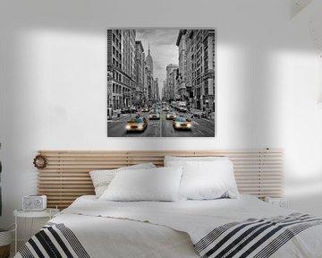 5th Avenue NYC Verkeer van Melanie Viola