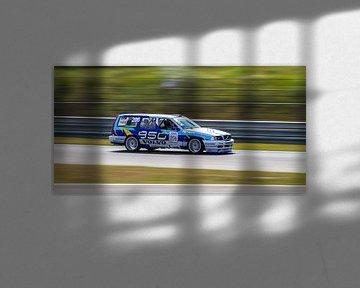 Volvo 850 racer op het Circuit Park Zandvoort sur Robin Hartog