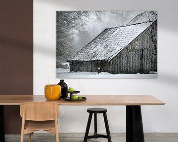 Winter in de Achterhoek von Arno Wolsink