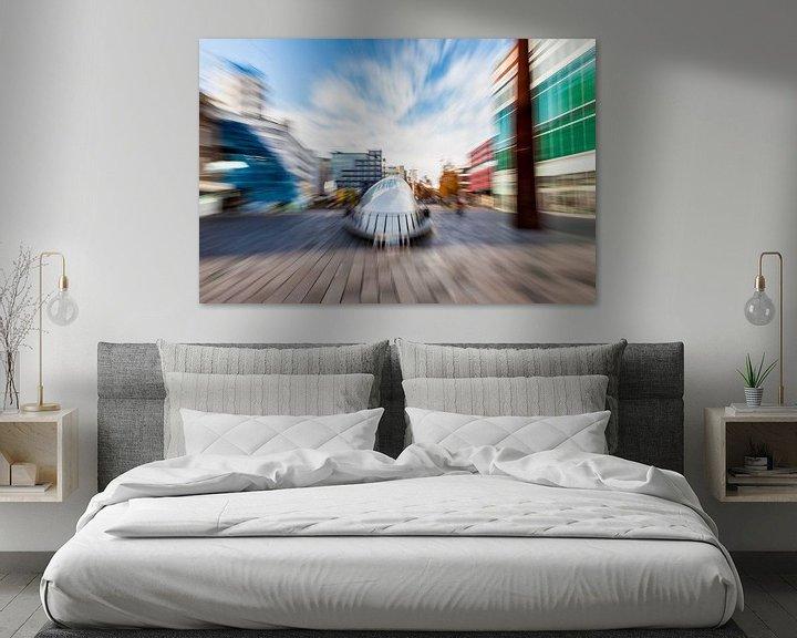 Sfeerimpressie: Artistieke impressie BLOB Eindhoven van Hans Kwaspen