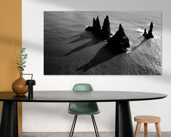 Sfeerimpressie: Reynisdrangar, IJsland van Roel Janssen