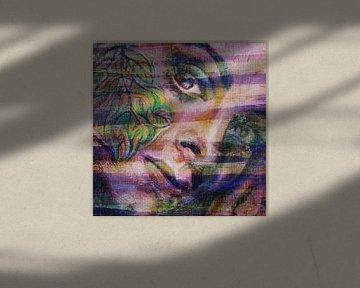 Portret van een vrouw van ART Eva Maria