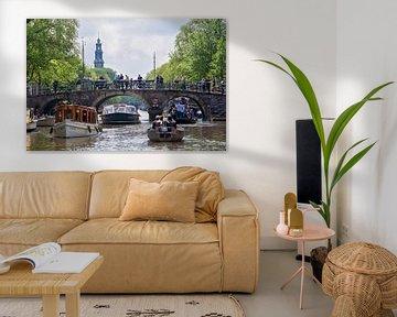 Cruise auf den Amsterdamer Grachten von Anouschka Hendriks