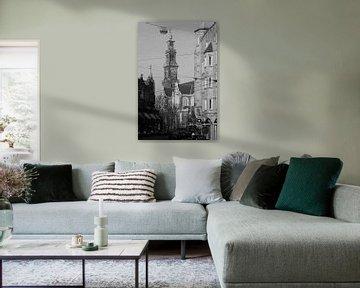 Westerkerk Amsterdam van Henk van Brecht