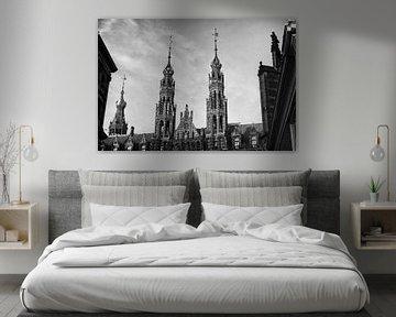 Torens Magna Plaza, Amsterdam van Henk van Brecht