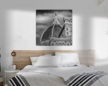 Italië in vierkant zwart wit, Florence van Teun Ruijters