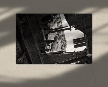 Verlaten mijntoren 2 van Henk van Brecht