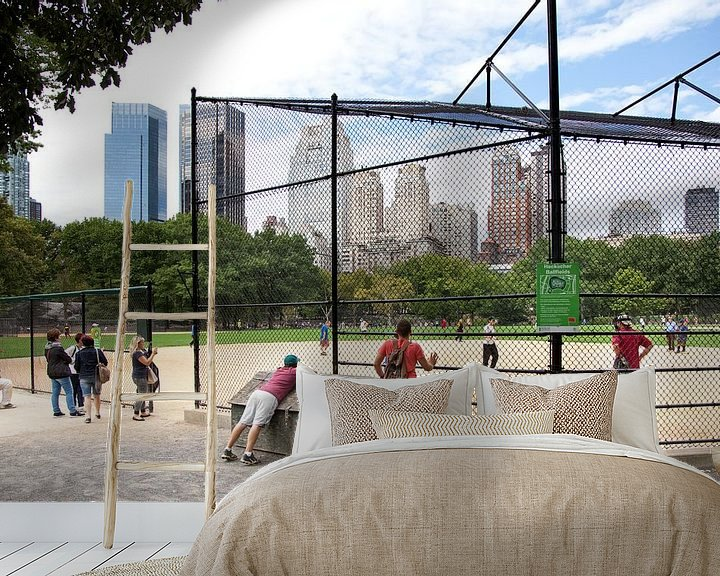 Impression: Baseball on The Great Lawn in Central Park, Manhattan , New York sur Arie Storm
