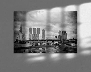 Erasmusbrug in Rotterdam van Elbertsen Fotografie