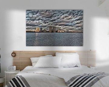 Skyline Almere von Brian Morgan