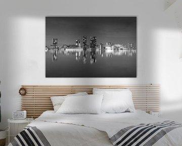 Almeerse skyline van Arjan Keers
