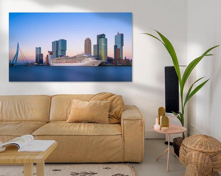 Sfeerimpressie: Rotterdam Skyline met Cruise van Albert Dros
