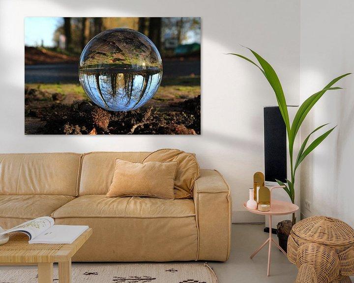 Sfeerimpressie: Bol fotografie -  Rijs Friesland - Bomenlaan  van Fotografie Sybrandy